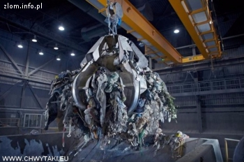 Chwytaki do złomu i odpadów do suwnicy