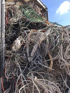 Kupię hurtowe ilości złomu kabli miedzianych