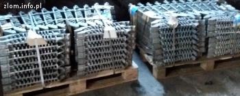kupimy złom wsadowy stali żaroopornej i nierdzewnej Cr, CrNi