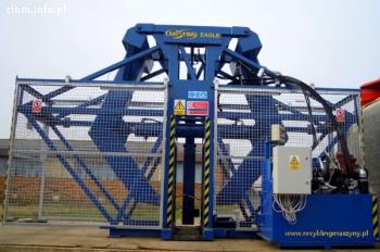 Maszyna do wyciągania drutów z opon
