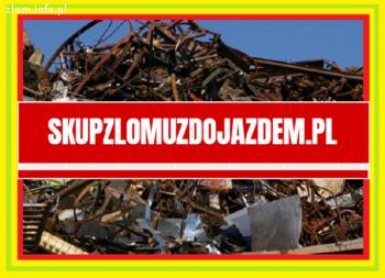 Mobilny Skup złomu odbiór złomu z twojej firmy domu Gotówka!