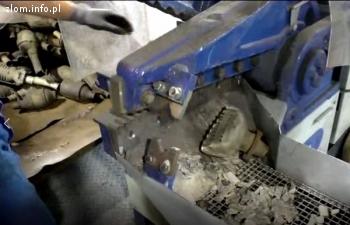 Nożyce do cięcia katalizatorów K600 KAT