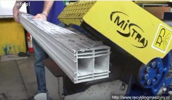 Nożyce do cięcia profili okiennych, aluminiowych