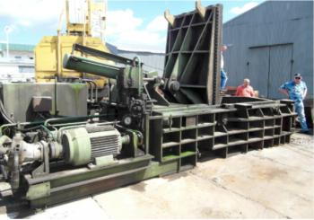Paczkarka do złomu 400 ton