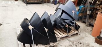 Pazury do chwytaka do złomu 600 litrów pełne płetwy Hardox