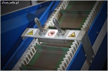 Separator magnetyczny (ręczna belka)