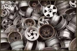 Skup aluminium felgi, odlewy, chłodnice AL, skup metali nież