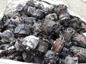 Skup rozruszników, alternatorów, silniczków samochodowych