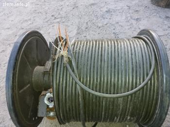 Sprzedam kabel  miedziany wojskowy 4 żyłowy