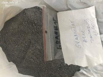 Sprzedam odsiew i granulat aluminium oraz tlenek żelaza.