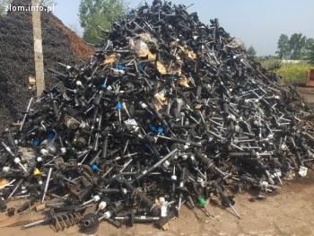 Sprzedamy złom amortyzatorów ok. 8 ton