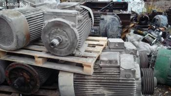 Złom silników elektrycznych