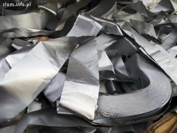 Złom taśmy aluminiowej