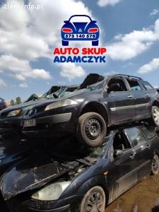 Złomowanie samochodów osobowych Chorzów auto kasacja skup